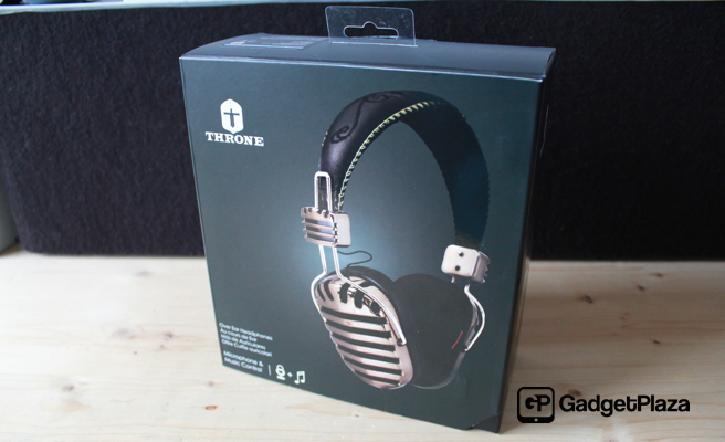 Throne «Gold» On-Ear Headphones