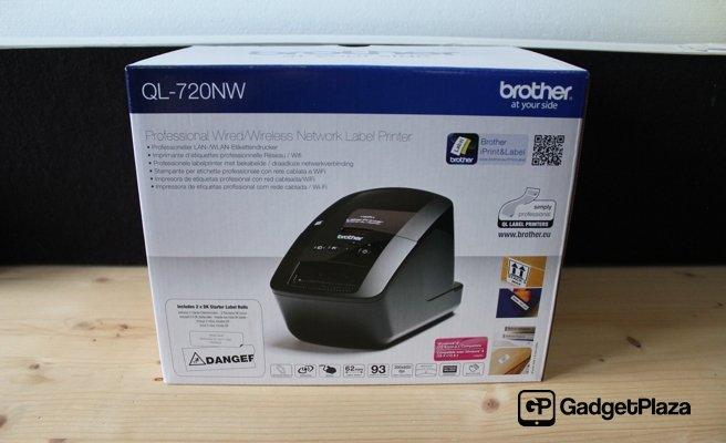Brother QL-720NW Network Label Printer