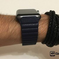 AliExpress Leather Loop Blau